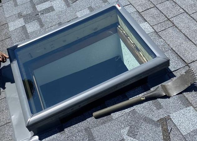 Skylight Repair in Noblesville, IN - After Photo