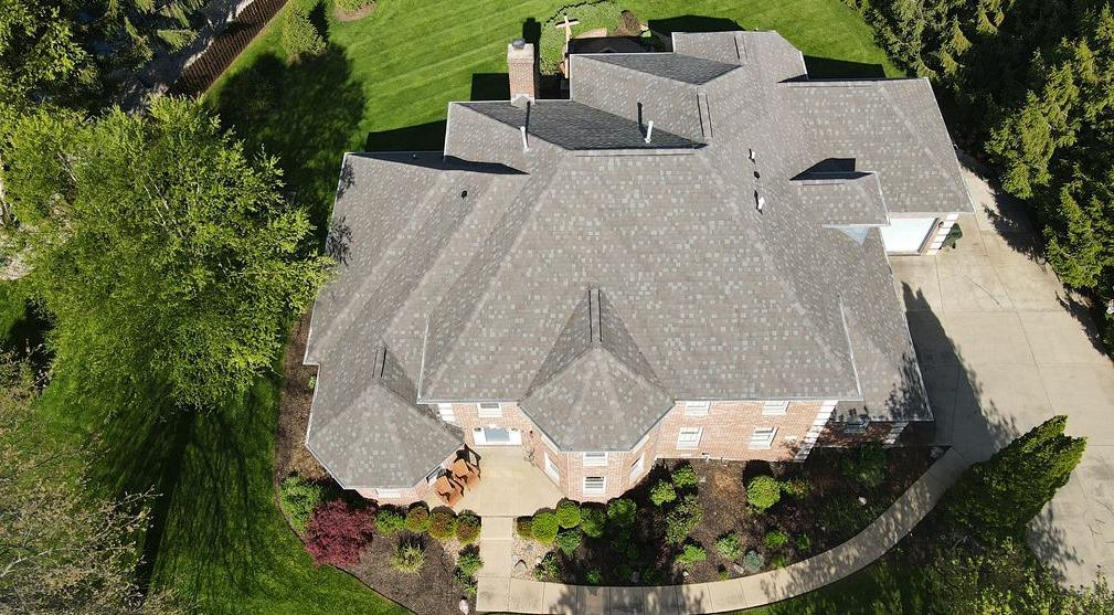 Asphalt Roof Replacement in Greenfield, IN - After Photo