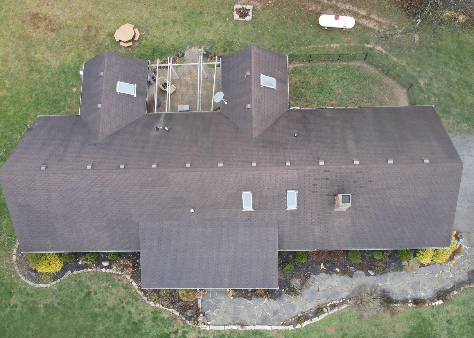 Roof Replacement in Fairland, IN - Before Photo
