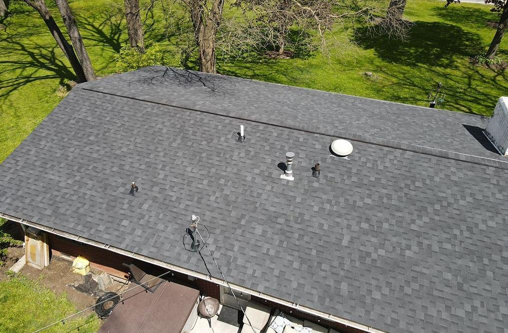 Asphalt Roof Replacement in Carmel, IN - After Photo