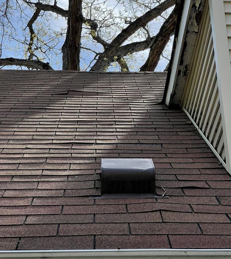 Partial Roof Replacement in Indianapolis, IN - Before Photo