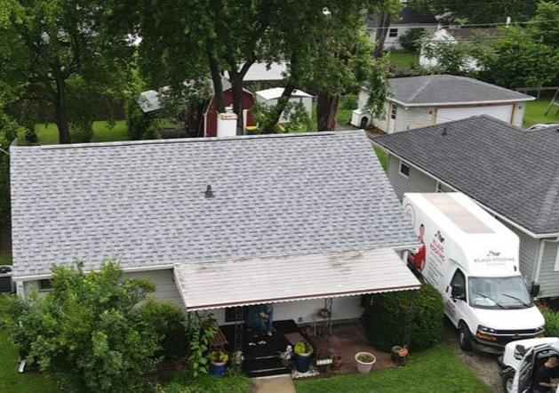 Roof Replacement in Lawrence, Indiana - After Photo