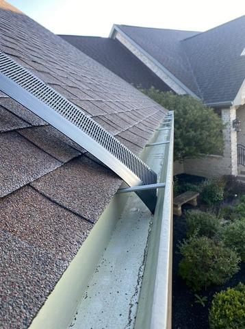 Gutter Guard Installation in Westfield, IN