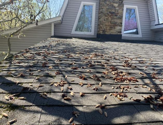 Flat Roof Install in Avon, IN - Before Photo