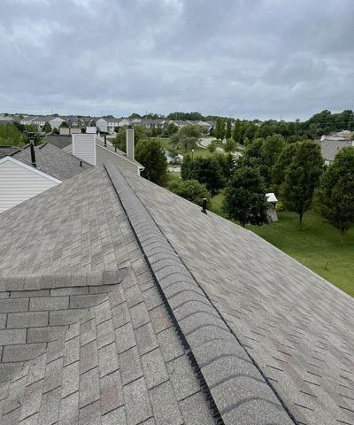 Ridge Vent Install in Fishers, IN - After Photo