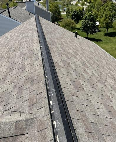 Ridge Vent Install in Fishers, IN - Before Photo