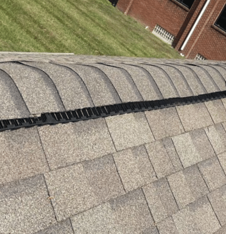 Ridge Vent Install in Indianapolis, IN - After Photo