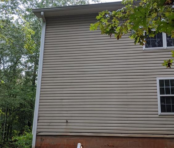 Radon Mitigation System in Arnoldsville, GA - Before Photo