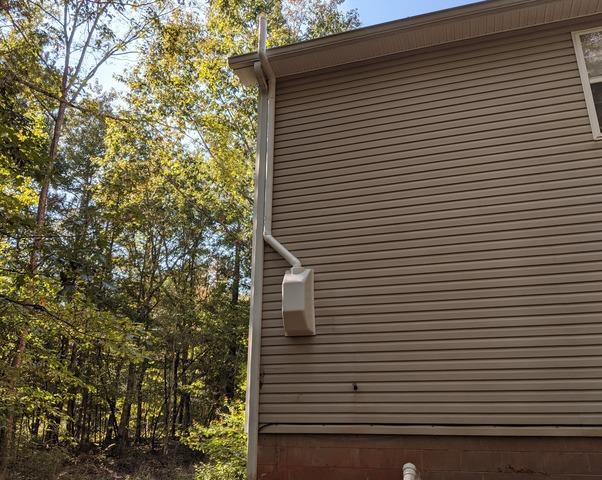 Radon Mitigation System in Arnoldsville, GA - After Photo