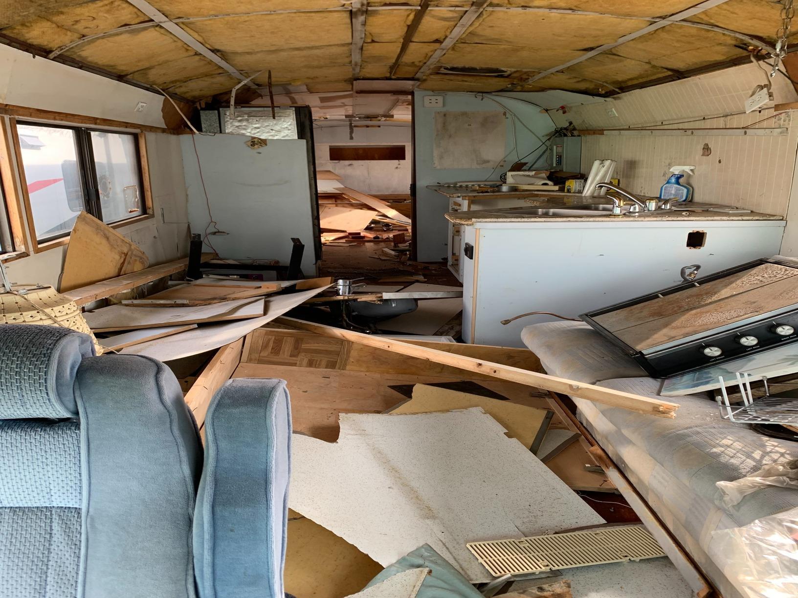 Mobile Home Reno in Rancho Bernardo, CA - Before Photo