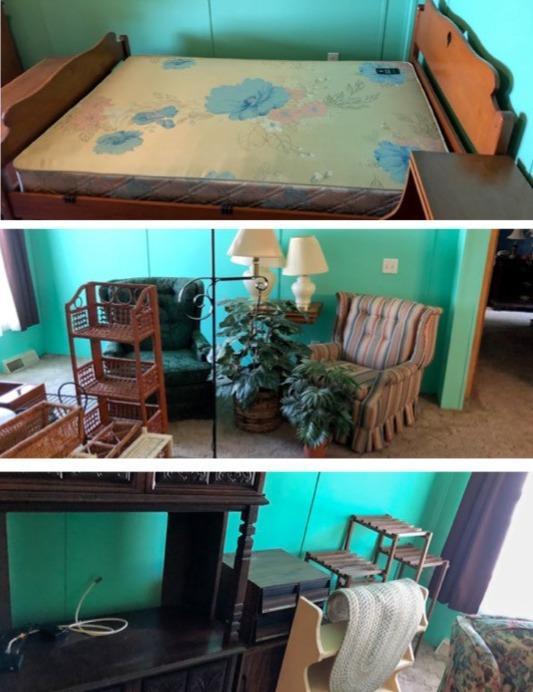 Furniture Removal Douglassville, PA - Before Photo