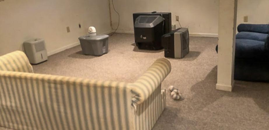 Furniture Removal in Downingtown, PA - Before Photo