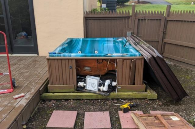 Hot Tub Removal in Boyertown, PA
