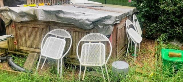 Declutter my backyard in Downingtown, PA