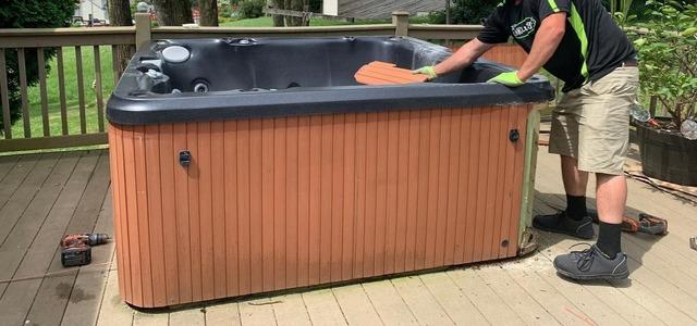 Hot Tub Removal in Reading, PA