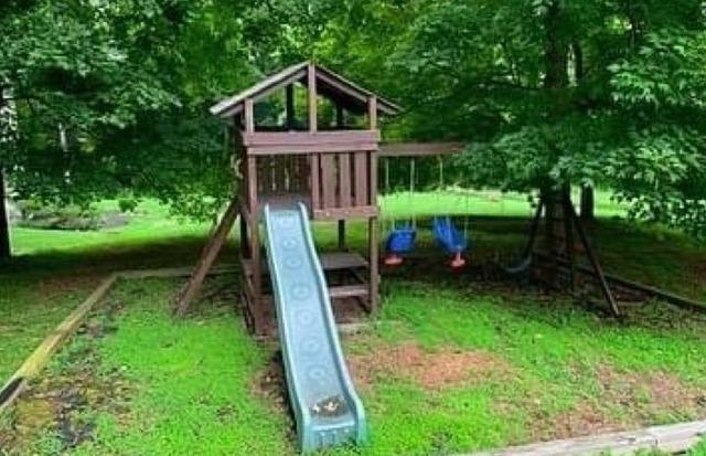 Swing set clean out in West Chester, PA