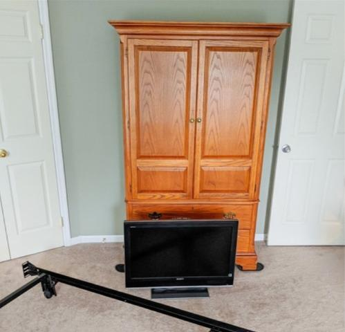 Removed damaged TV in Chester Springs, PA