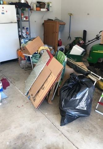Declutter my garage in Chadds Ford, PA