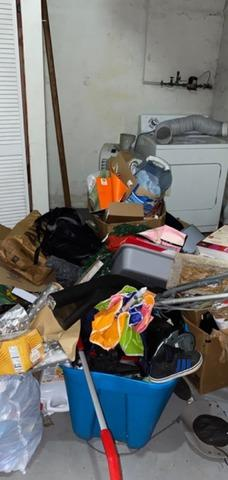 Junk Disposal in Lancaster, PA - Before Photo