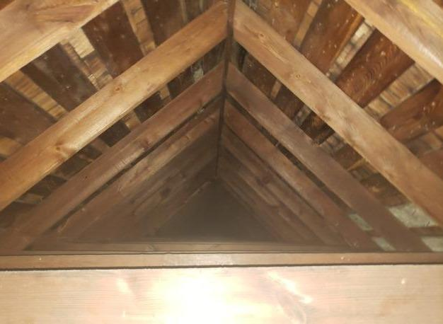 Lawrence, KS Spray Foam Insulation - Before Photo