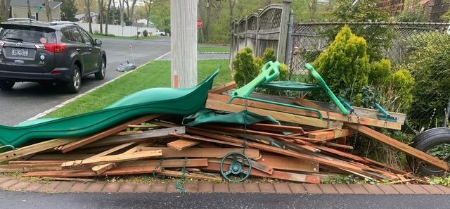 Curbside Pickup In Holtsville, NY - Before Photo