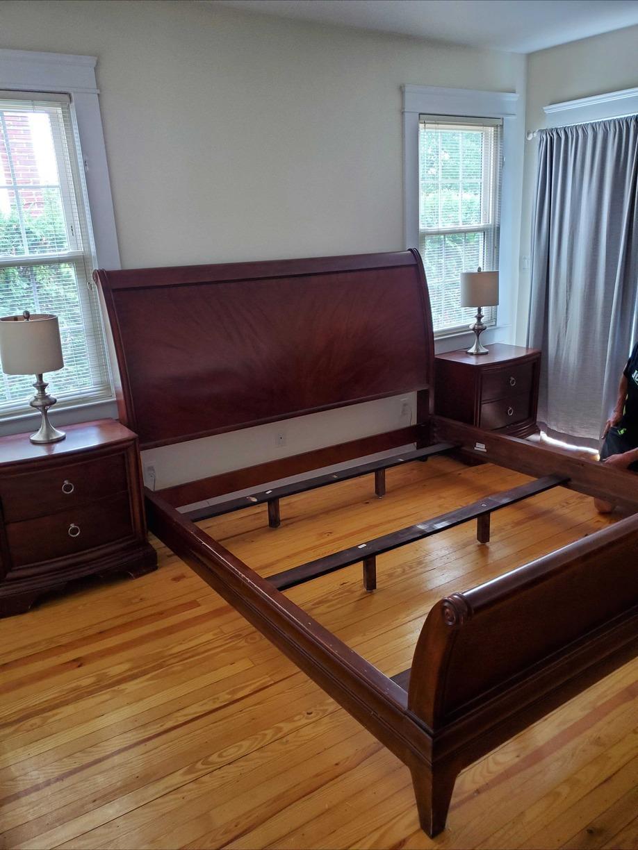BEDROOM SET REMOVAL IN PORT WASHINGTON, NY - Before Photo