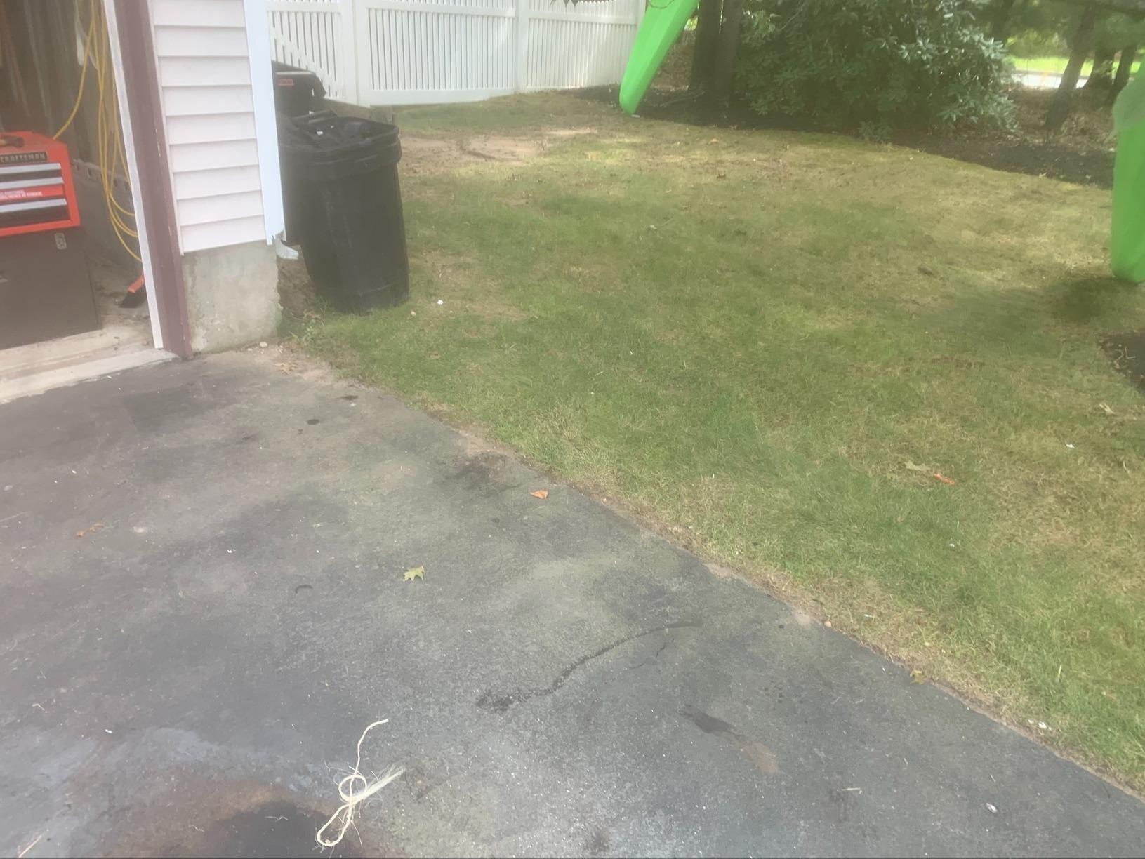 Outdoor Cleanup in Medford, NY - After Photo