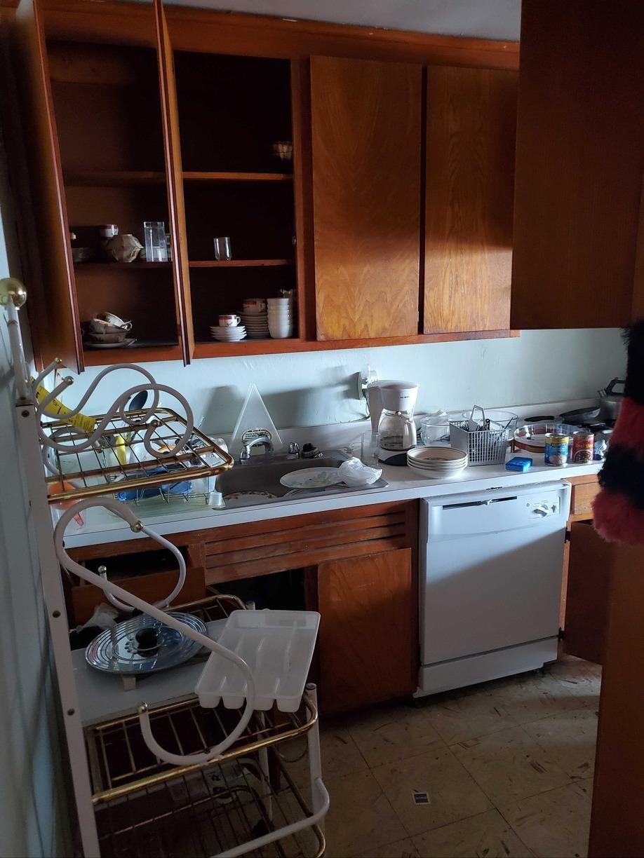 Kitchen Cleanout in Long Beach, NY - Before Photo