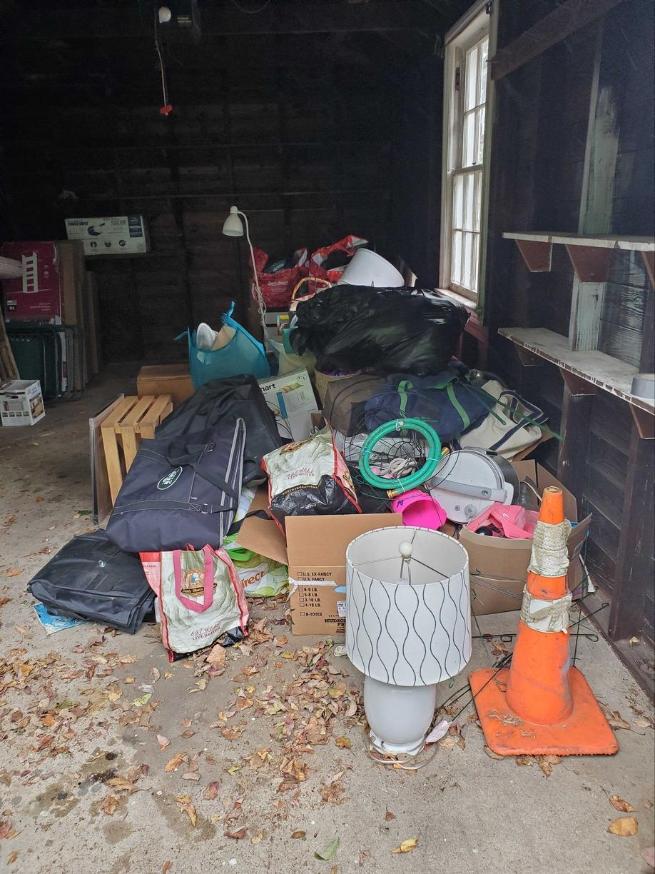 Garage Cleanout in Glen Head, NY - Before Photo