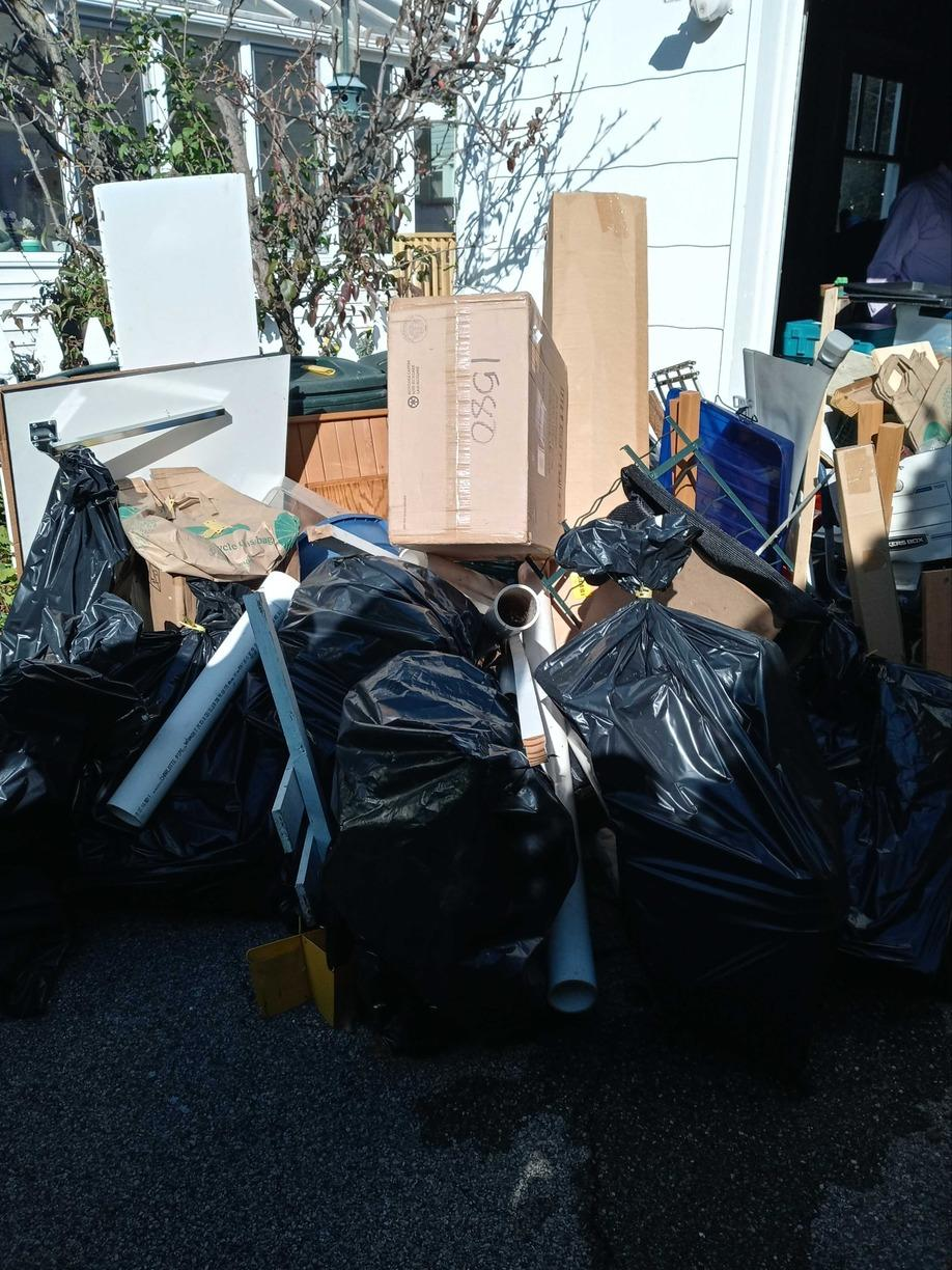 Curbside Pickup in Roslyn Heights, NY - Before Photo