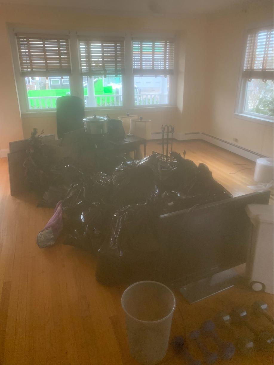 Moving Cleanout in Point Lookout, NY - Before Photo