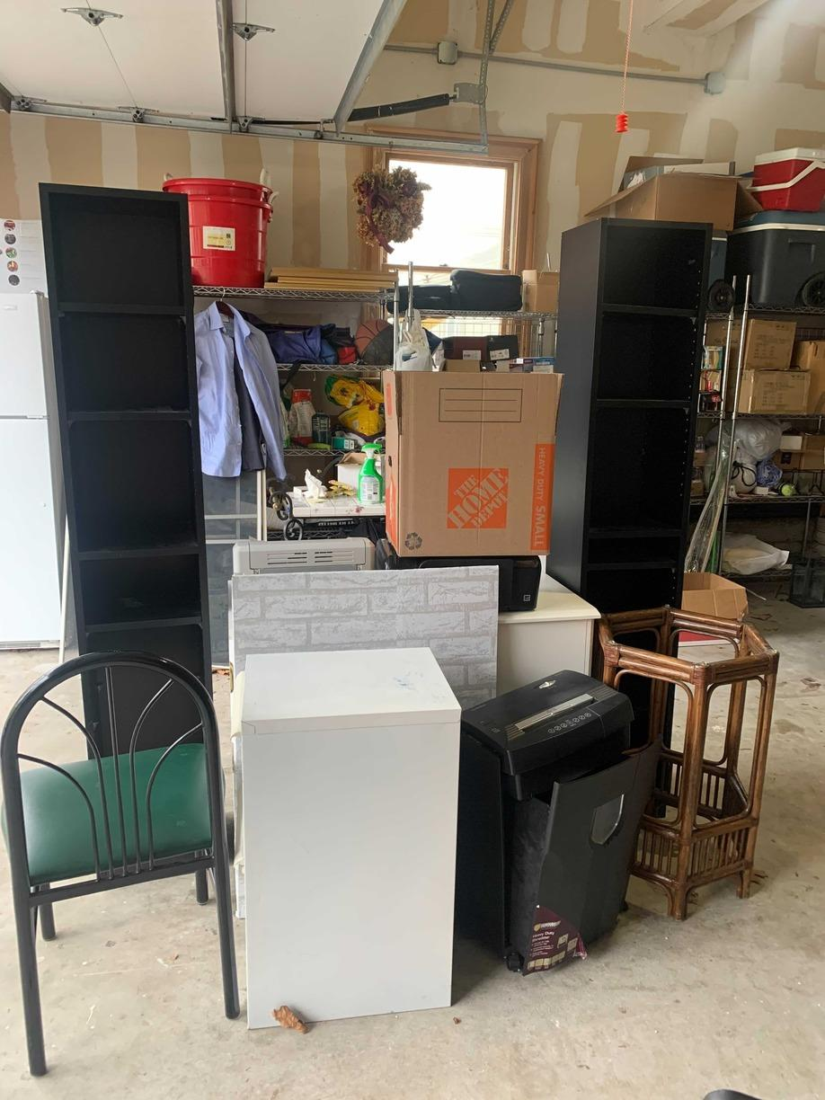 Garage Declutter in Lawrence, NY - Before Photo