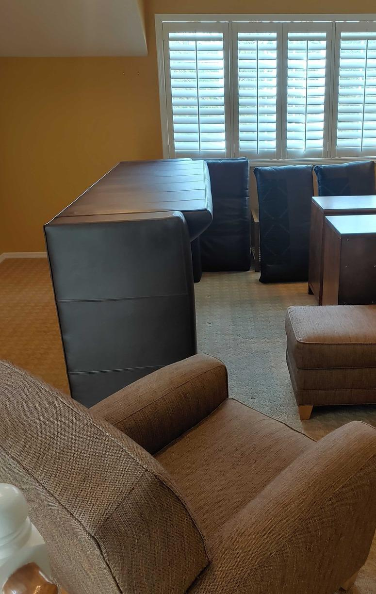 Furniture Removal in Nesconset, NY - Before Photo