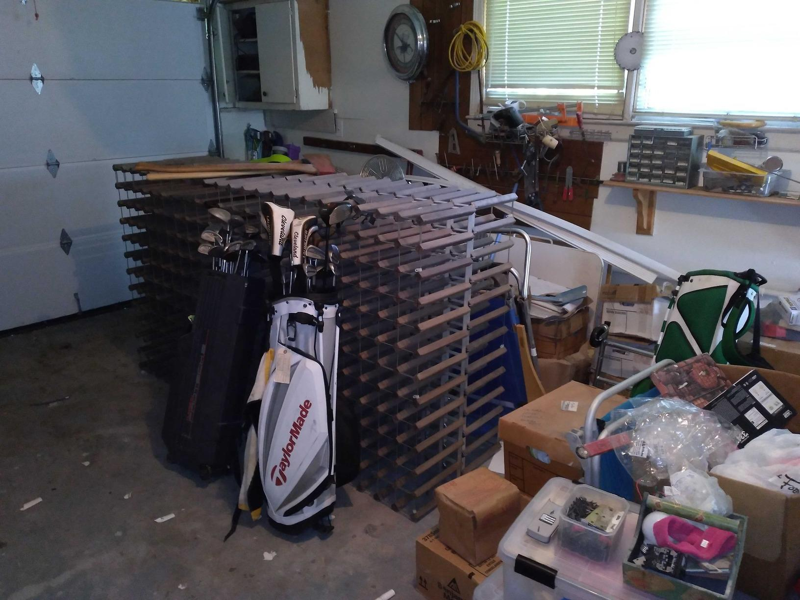 Garage Decluttering Service in Atlantic Beach, NY - Before Photo