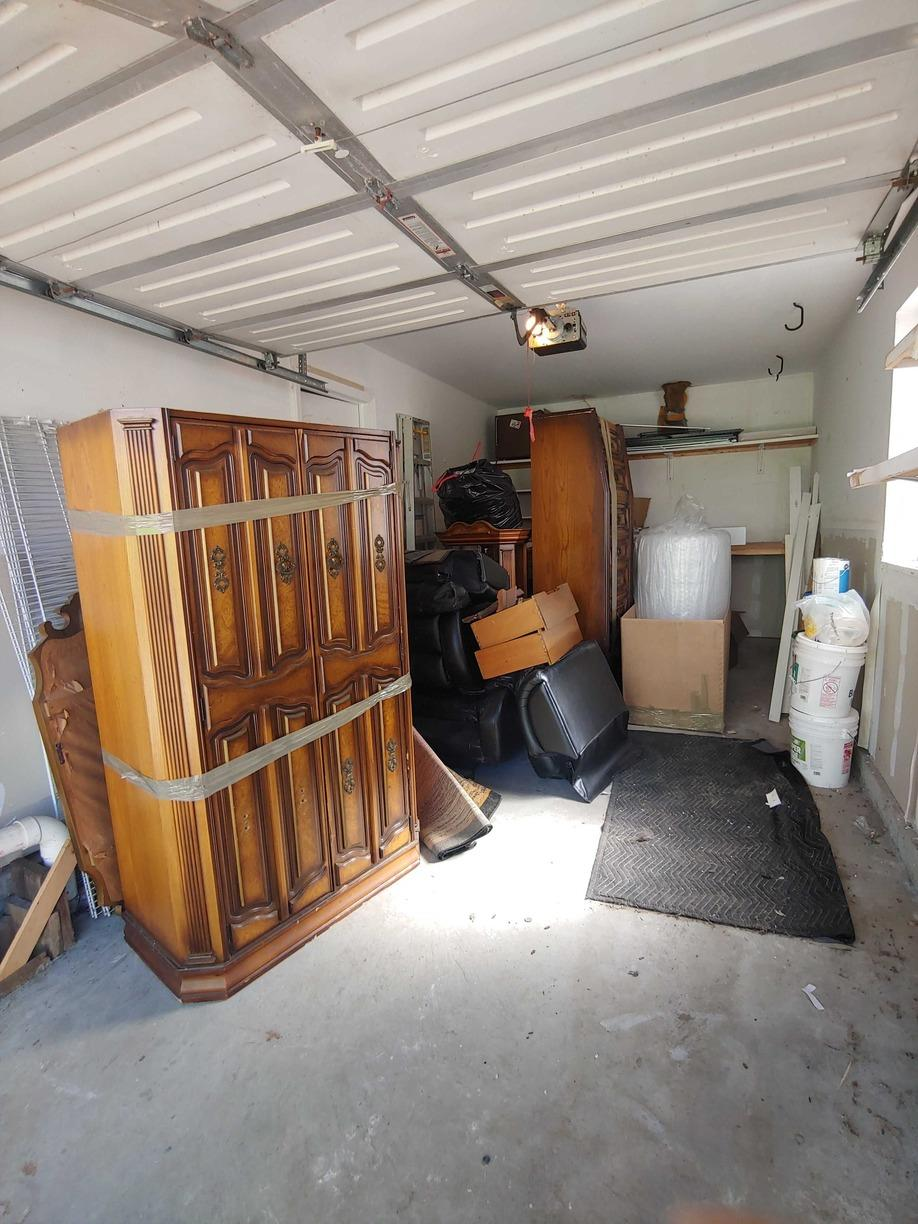 Garage Cleanout Service in Long Beach,, NY - Before Photo