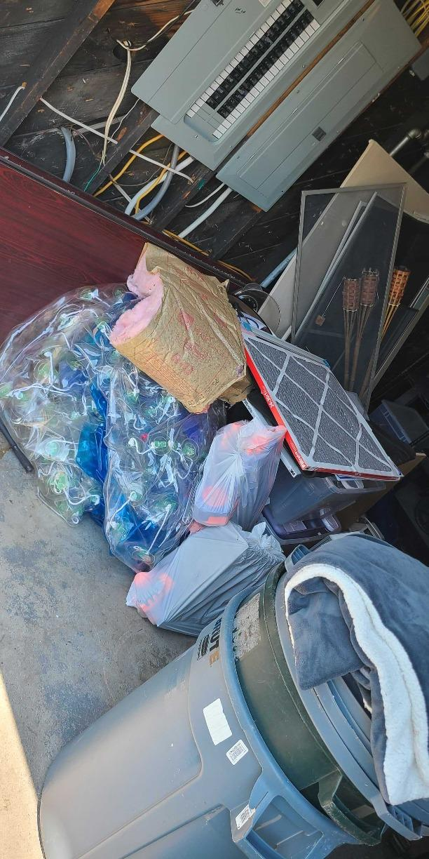 Garage Decluttering Service in Lawrence, NY - Before Photo
