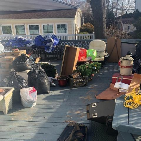 New Hyde Park, NY Clutter Removal - Before Photo