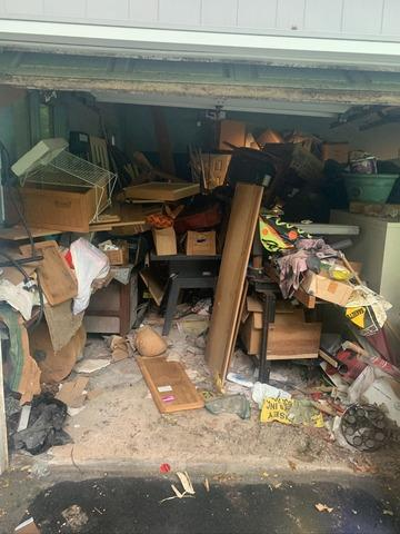 Garage Declutter in Huntington Station, NY - Before Photo