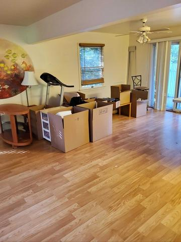 Moving Cleanout in Westhampton Beach, NY - Before Photo