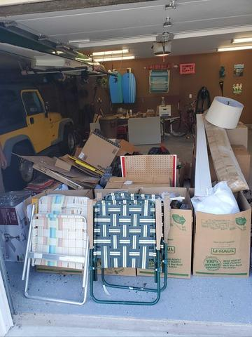 Garage Cleanout in Hampton Bays, NY