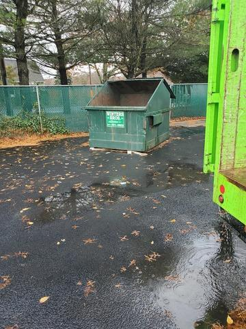 Dumpster Overflow in Shirley, NY