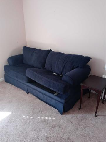 Sleeper Sofa Removal in Malverne, NY - Before Photo