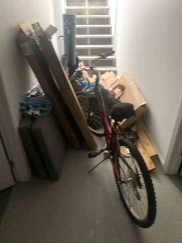 Bicycle and Miscellaneous Junk Removal in Amagansett, NY - Before Photo