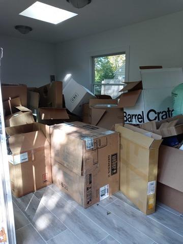 Cardboard Box Removal Service in Sag Harbor, NY