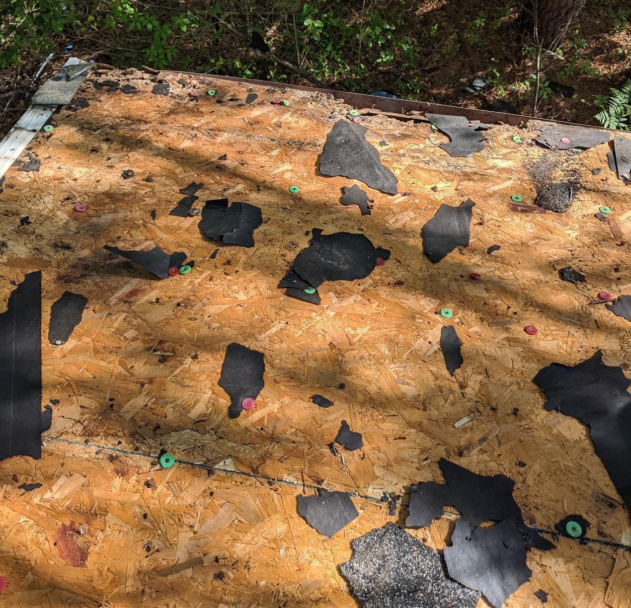 Roof Repair in Longs, SC - Before Photo