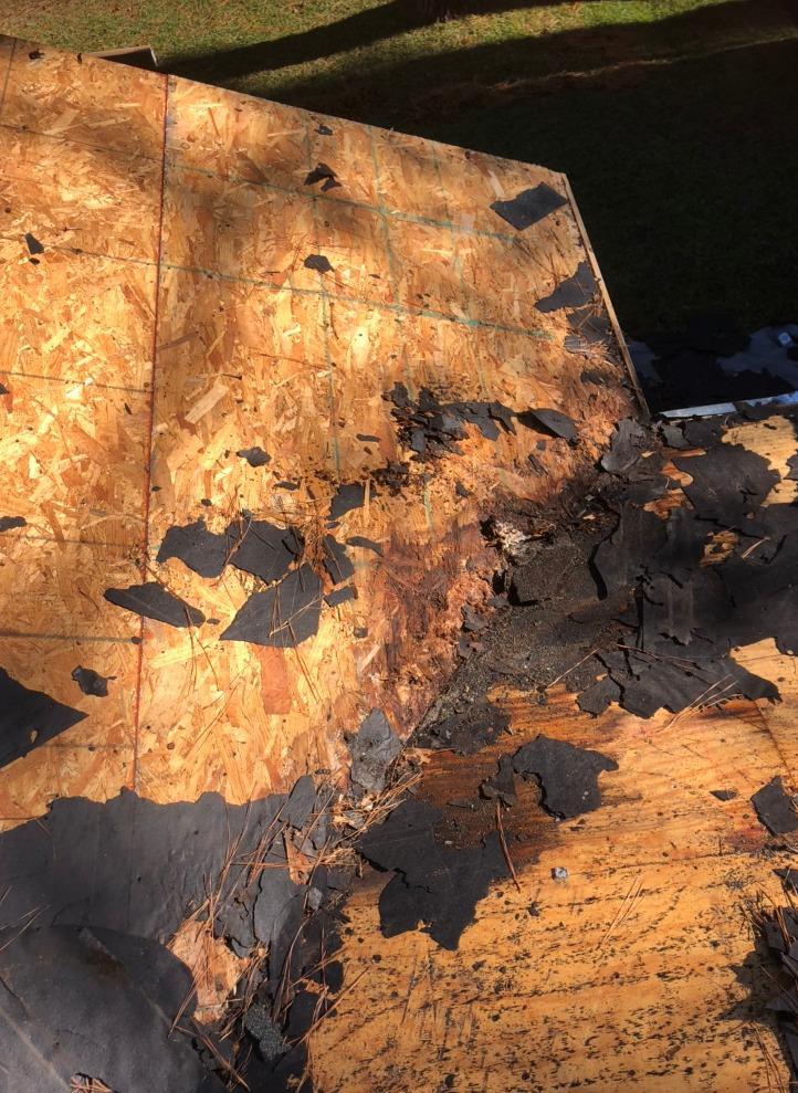 Roof Repair in Myrtle Beach, SC - Before Photo