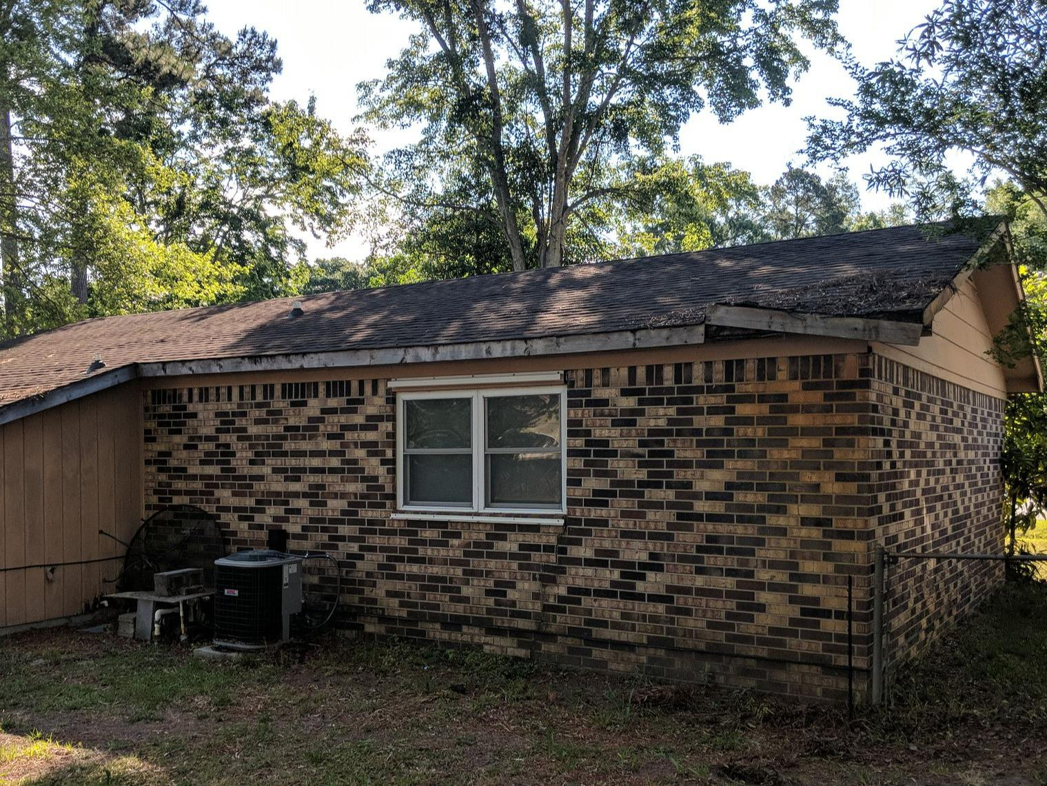 Tree Damaged Roof Repair in Myrtle Beach, South Carolina - Before Photo