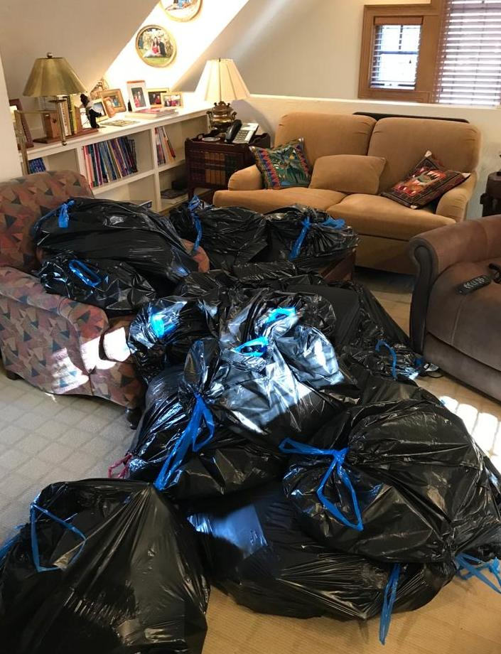 Junk removal in Wellesley, MA - Before Photo