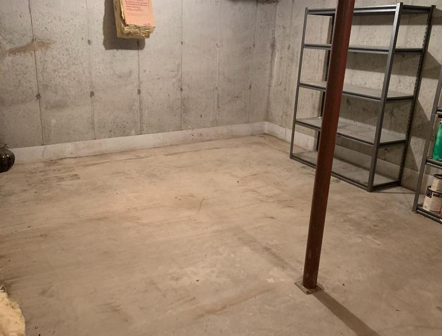 Basement clean out in Westwood, MA - After Photo