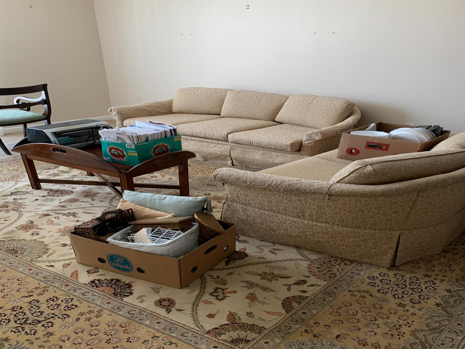 Apartment cleanout in Canton, MA - Before Photo